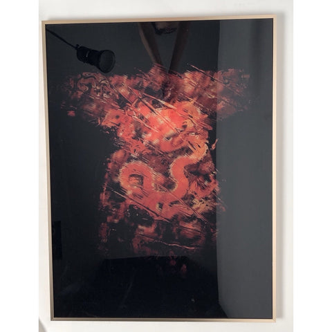 Image of Fiery Cheong-sam Print