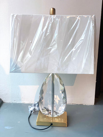 Image of Crystal Droplet Table Lamp
