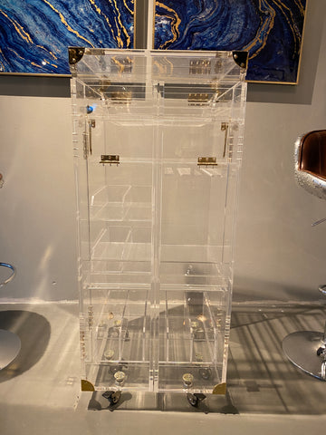 Image of Acrylic Wine bar cabinet