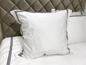 Pillow case 3-Line Sham 300TC  Euro