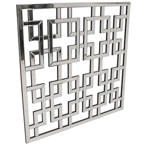 Square Fretwork Mirror Large - taylorbdesign.com