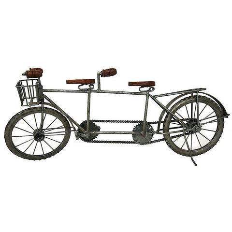 IRON TANDEM BICYCLE MODEL