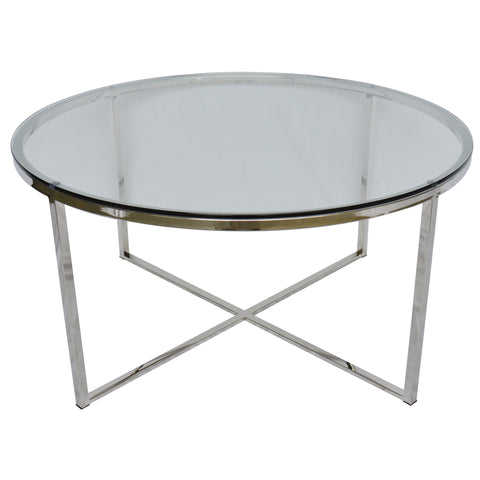 Proud Glass Cocktail Table (Polished Glass)