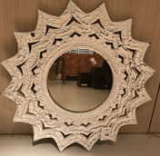 Image of Mirror with Sophisticated Design
