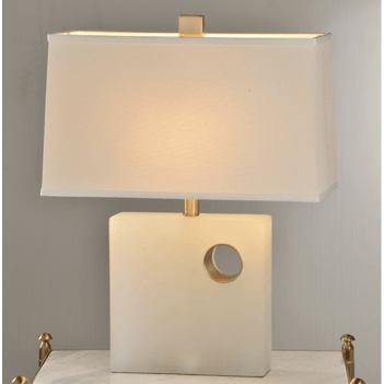 Marble Block Table Lamp