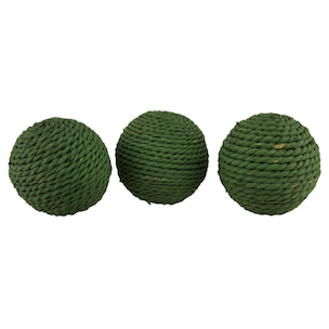 Rustic Rattan Twine Rope Design Decorative Balls