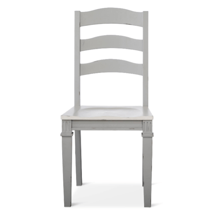Beekman Dining Chair Dove Grey and White (ON SALE)