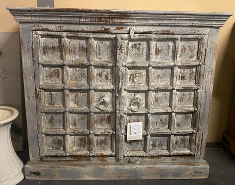 Wooden 2 Antique door Cabinet