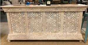 Wooden Carved Bar counter