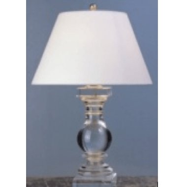 Balustrade Shaped Crystal Lamp