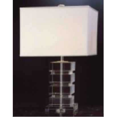 Stacked Square Crystal Lamp