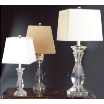 Classic Crystal Lamp LARGE