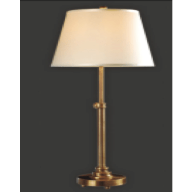 Adjustable Table Lamp in Brass Finish