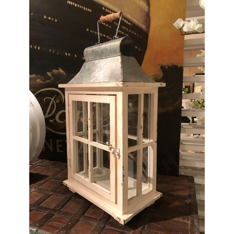 Evelyn Enclosed Lanterns with Handle & Drawers 32885-SMALL