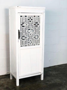 Fretwork Door Cabinet