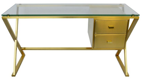 Dream Desk ( Brushed Gold)