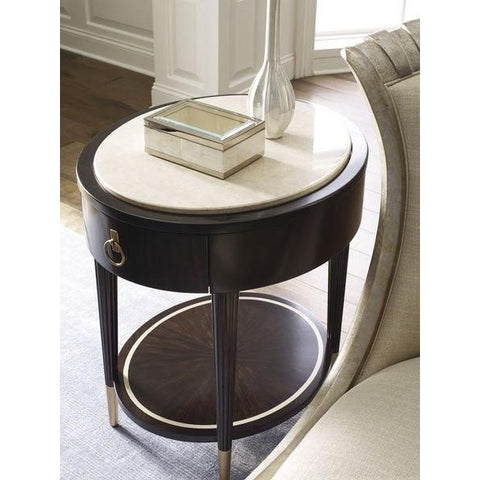 Everly Round Side Table by Caracole®