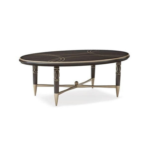 Everly Oval Cocktail Table