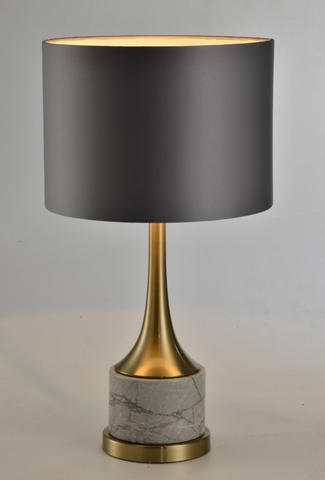 Wine Grey MarbleTable Lamp