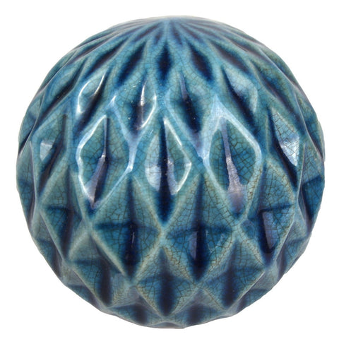 Diamond-Cut Marbleized Ball