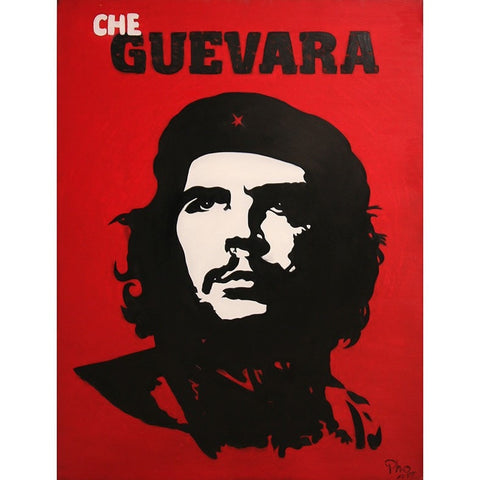 Che Guevara Oil Painting 60x80 UNFRAMED