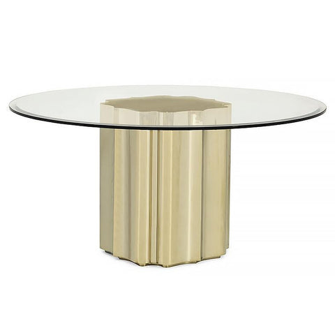 STRIKE GOLD Dining Table By Caracole®