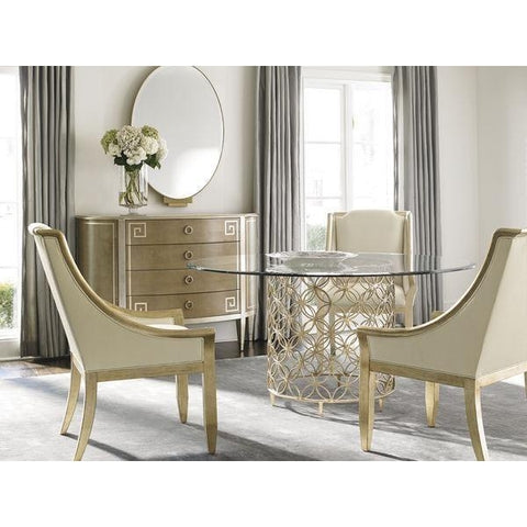 Image of Sterling Reputation Dining Arm Chair by Caracole®