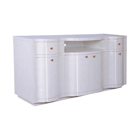 Cosmopolitan Entertainment Console - Parchment - Taylor B. Fine Design Group