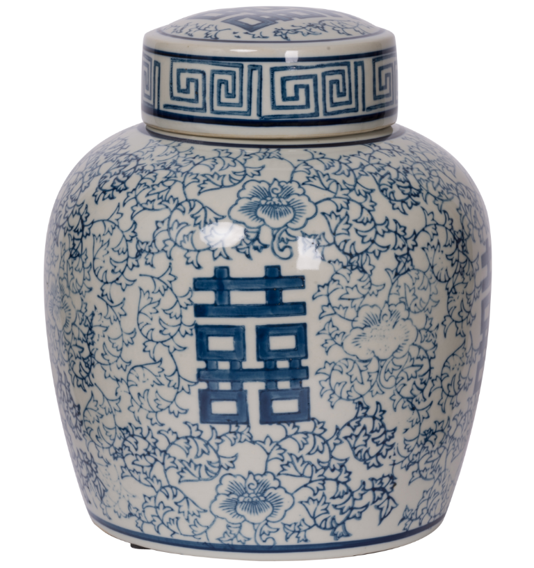 Berit Lidded Jar,Medium