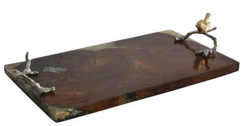 Image of Starshine Teak Tray