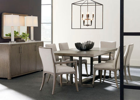 FUSION TRESTLE DINING TABLE