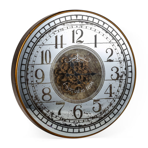 The Alluring Steampunk Wall Clock