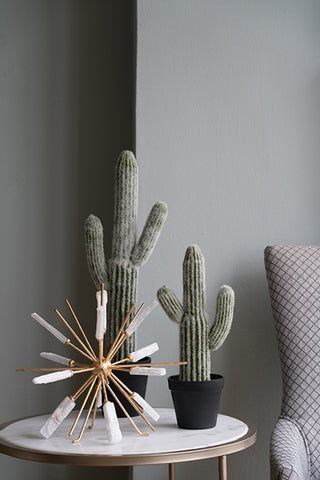 Image of Potted Faux Saguaro Cactus