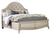 Starlite-6/6 Uph Panel Bed w/Storage