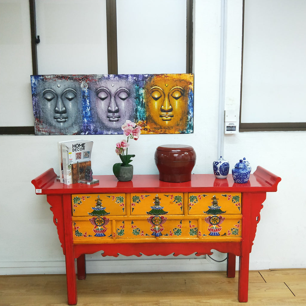 Buddha Heads Painting (ON SALE)