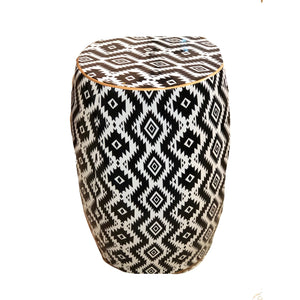 Black & White Modern Stool