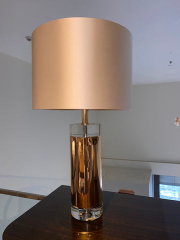 Image of Tumbled Quartz Table Lamp