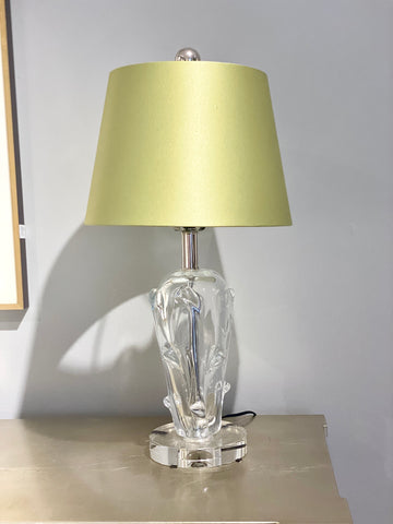 Image of Crystal Bark Table Lamp