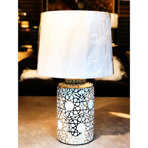 Golden Web Table Lamp