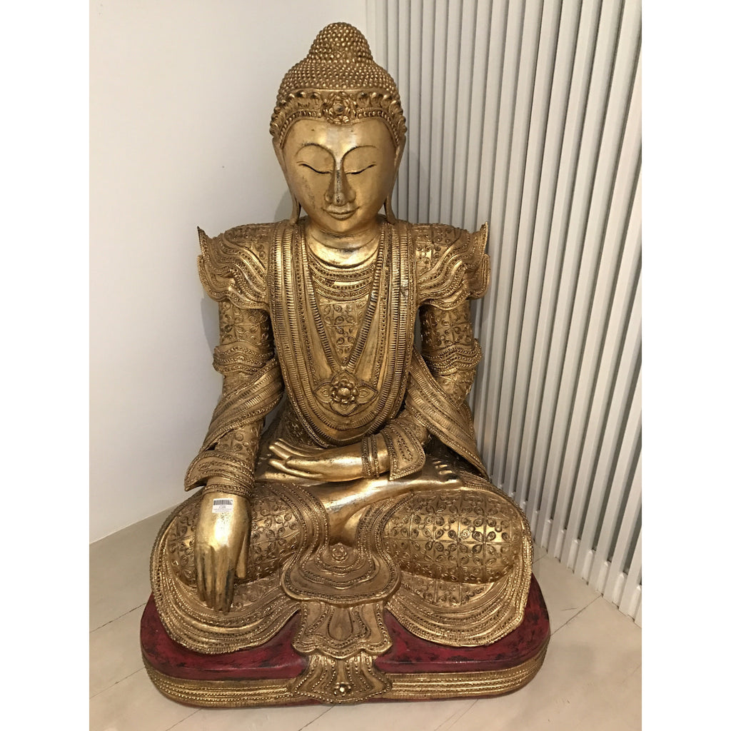"25"" Mandalay Sitting Buddha"