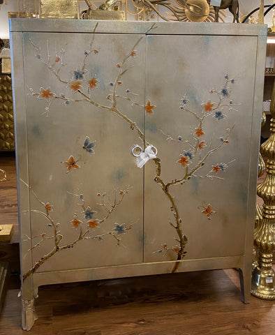 Image of Pearl Butterfly Square Cabinet