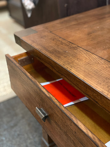 Image of Post and Beam End Table