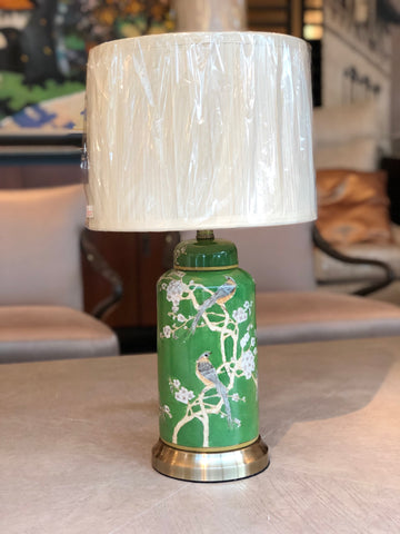 Green Bloom Table Lamp