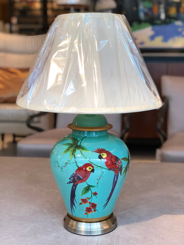 Parrot Paradise Table Lamp