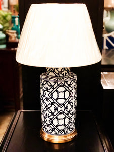 Oriental Blue Table Lamp