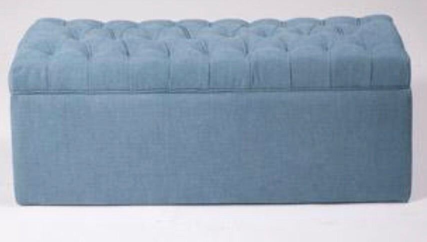 Tufted Oblong Ottoman