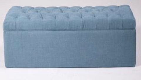 Image of Tufted Oblong Ottoman