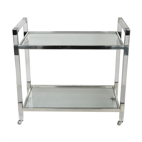 Soho Acrylic/Glass Service Trolley 34382