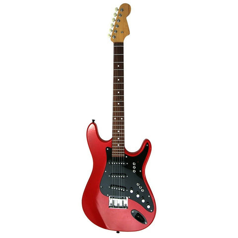 Cherry Red High Gloss Finish Electric Guitar With Case FINAL PRICE $188.00