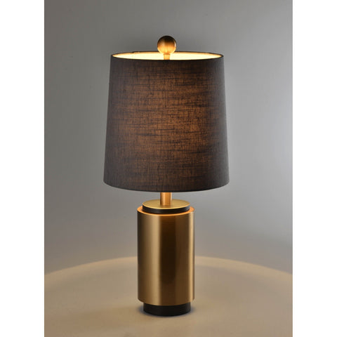 Dark Metallic Coffee Lamp